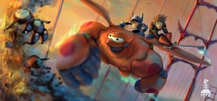Big Hero 6 Kingdom Hearts - bighero6 - david_adhinarya_lojaya | ello