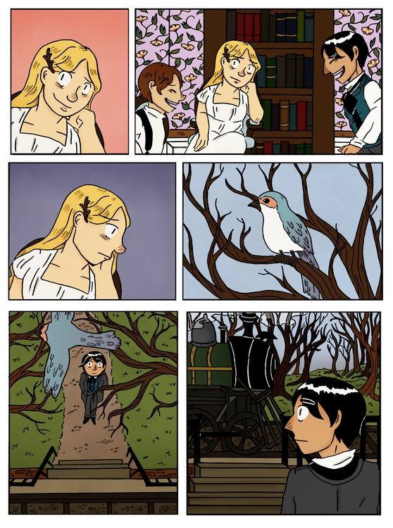 deadtree house - comics, webcomics - norathebean | ello