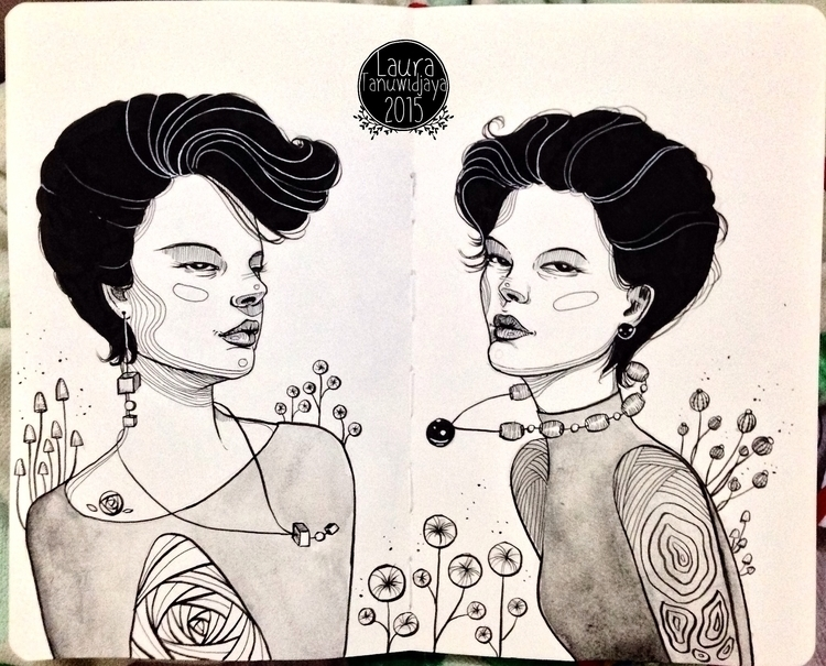 moleskine sketchbook - illustration - laura_t-4759 | ello
