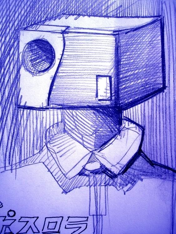 Atamaga - illustration, drawing - vitalic-1248   ello