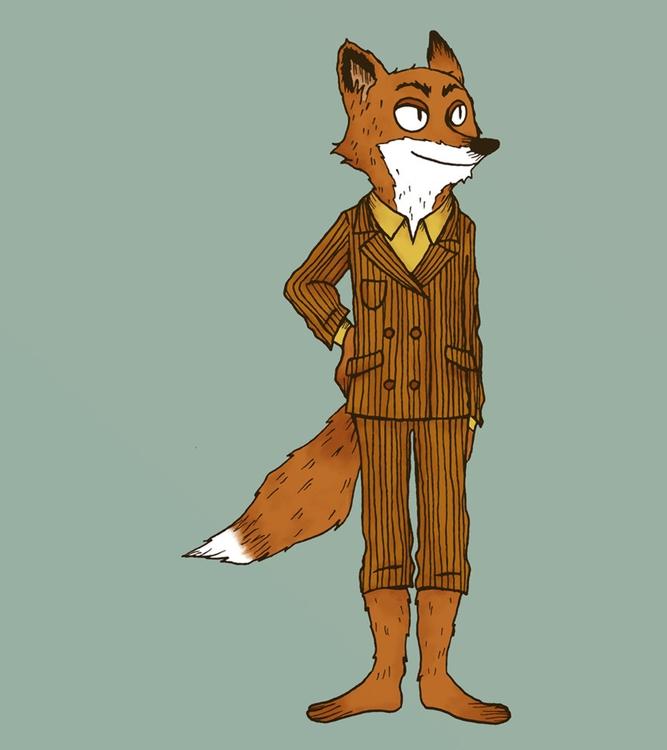 fantastic fox - fanart, wesanderson - norathebean | ello