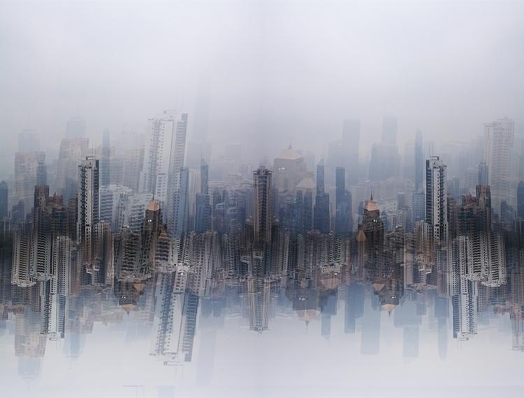 Hong Kong Skyline - photography - megabooboo | ello