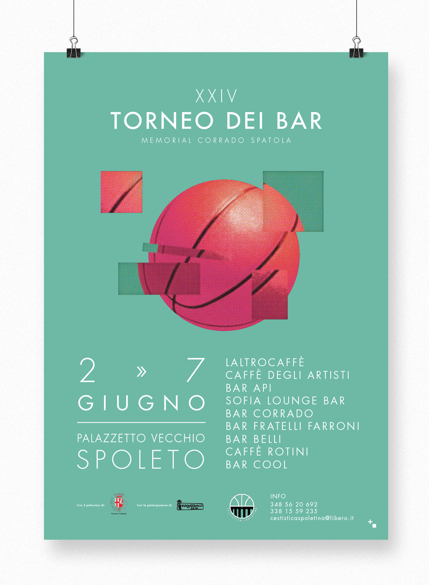Torneo dei bar - Basket - graphicdesign - maestroambrosiano | ello