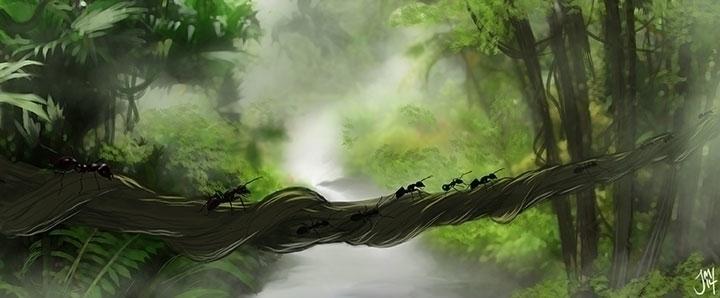 Ants jungle speed-paint - speedpaint - jasonmartin-1263   ello