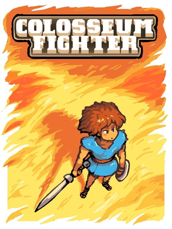 Colosseum Fighter - illustration - pixelboy-1587 | ello