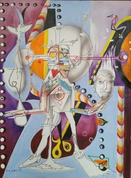 Nemo 2015 130cm/97cm oil canvas - nicolai-5134 | ello