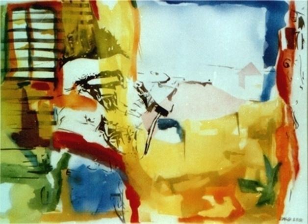 Airbrush paper, 70x50cm. Fight - zaherbizri | ello