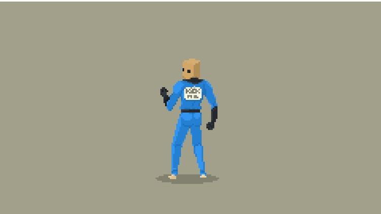 Spider-Man Pixel Art - Bombasti - planckpixels | ello