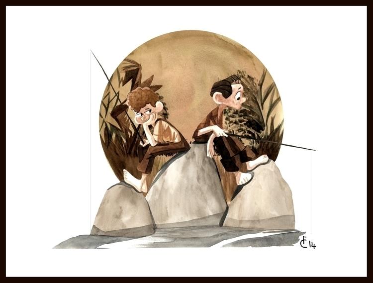 Huck Finn Tom Sawyer - huckleberryfinn - finbarcoyle | ello