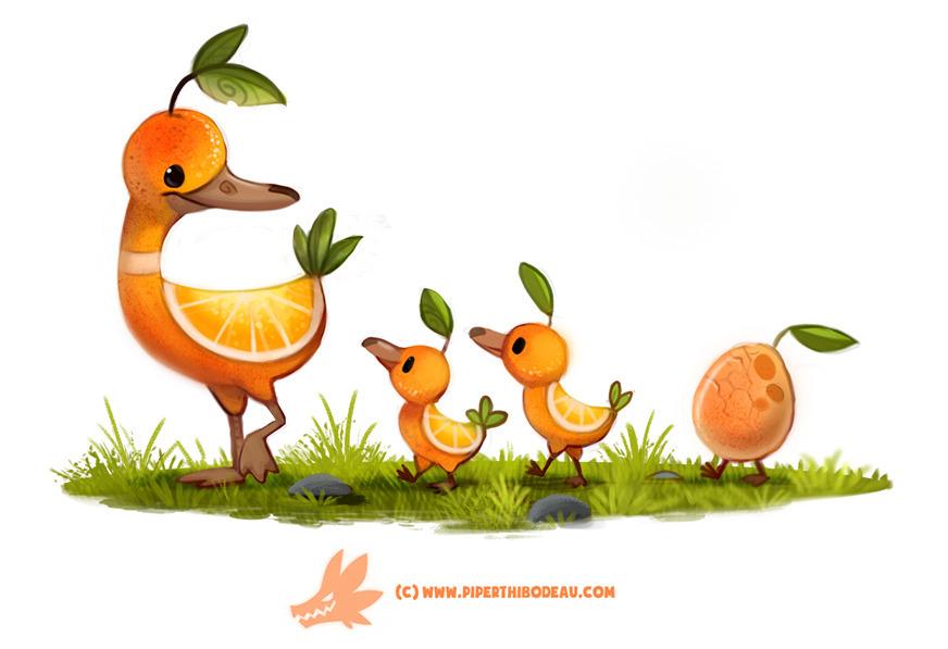 Daily Paint Duck - 1268. - piperthibodeau | ello