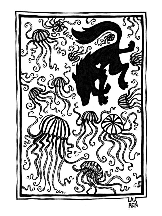 Dancing Jellfish (Perseverance - theartoflauren | ello
