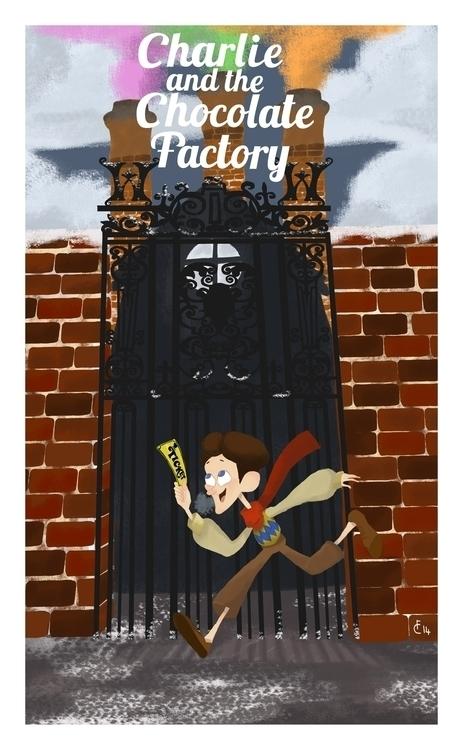 winning ticket - charlieandthechocolatefactory - finbarcoyle | ello