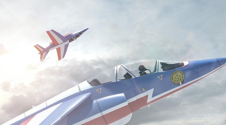 Alpha Jet Patrouille de France - remytrapp | ello