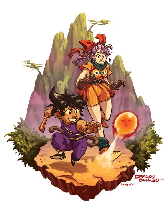 Happy 30th Birthday, Dragonball - dkirbyj | ello