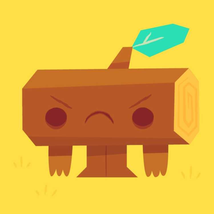 002. Stumpy - illustration, characterdesign - letsbrock | ello