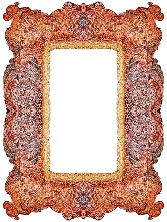 decorative frame - illustration - grabbo | ello