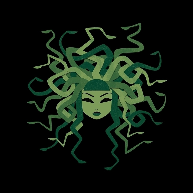 Medusa - medusa, mythology, monstergirl - littlepaperforest | ello