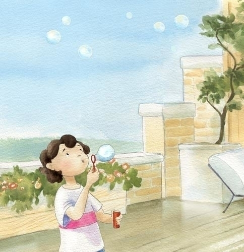 illustration Bo Larry Baum. boo - joannapasek | ello