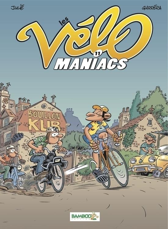 BD Les Vélomaniacs (Editions BA - jl_garrera | ello