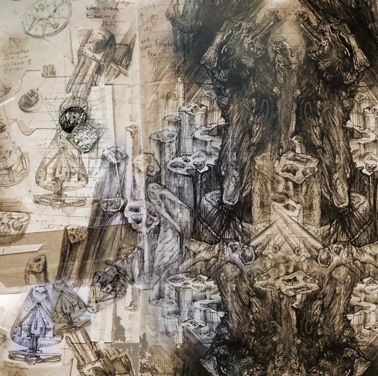 drawing, abstract - robinsonwhite | ello
