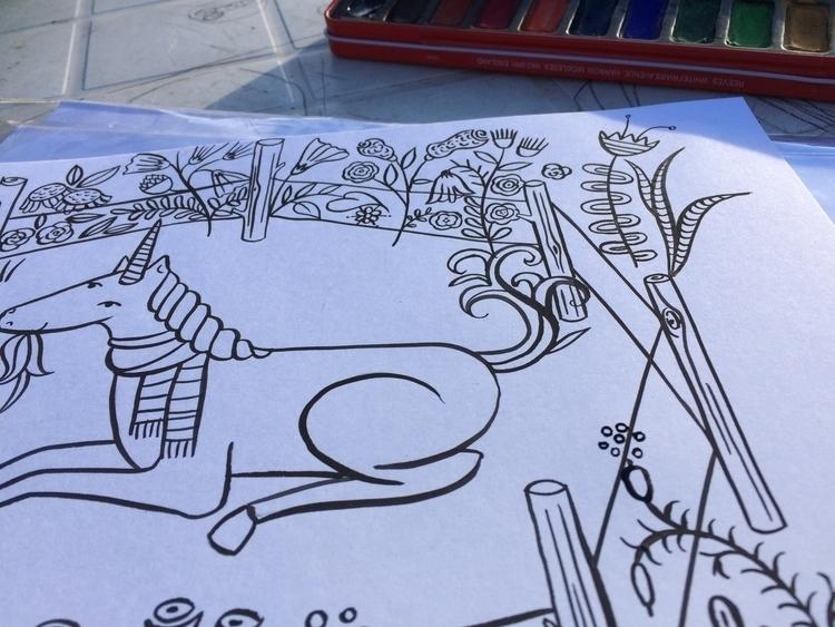 illustration, characterdesign - valeriacis | ello