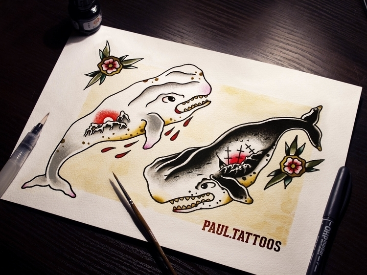 6 - illustration, painting, tattoo - paul_tru | ello