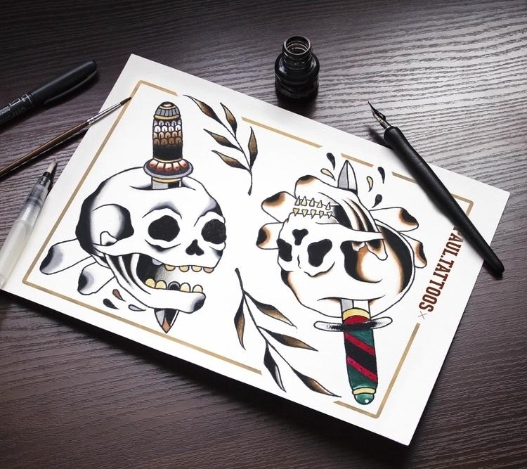 7 - illustration, painting, tattoo - paul_tru   ello