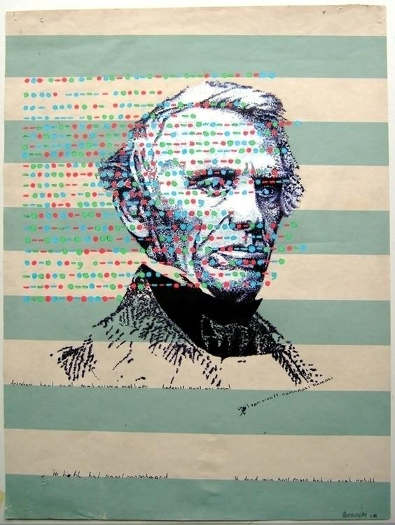 Samuel Morse 2015 Acrylic Marke - erik-1122 | ello
