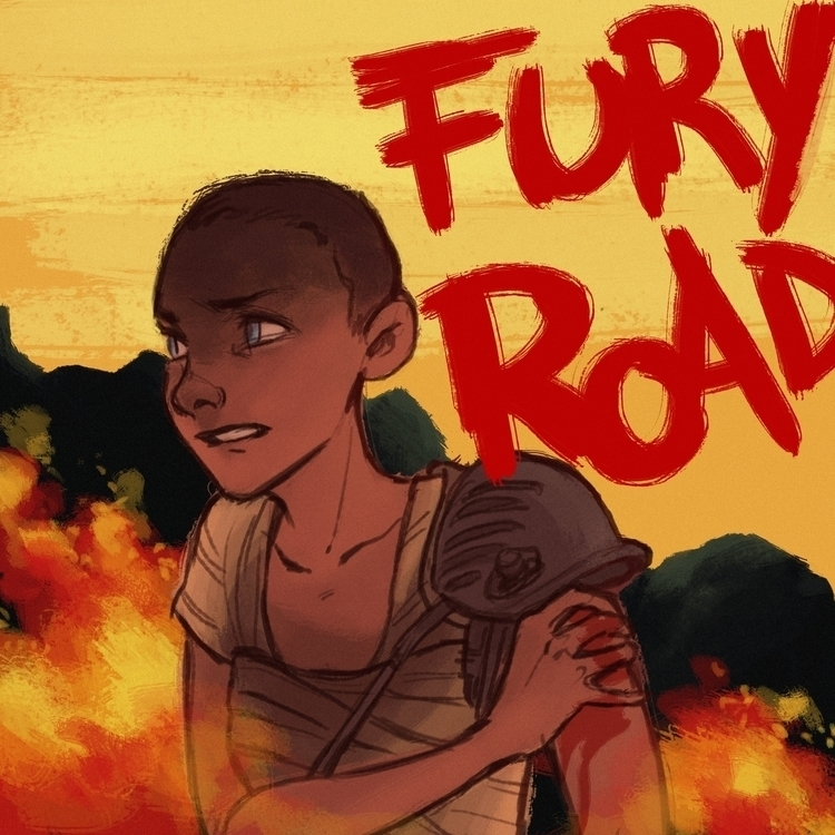 Furiosa - furiosa, madmaxfuryroad - illuystration | ello