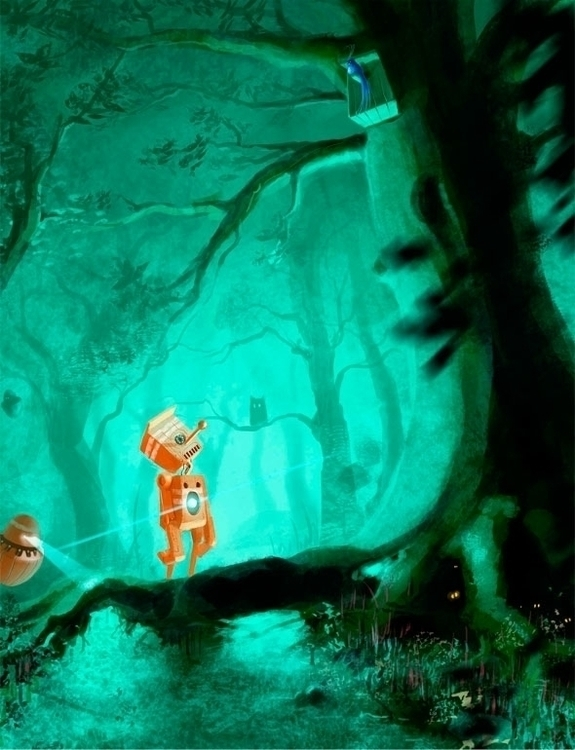 Orange - illustration, painting - jakubcenkl | ello