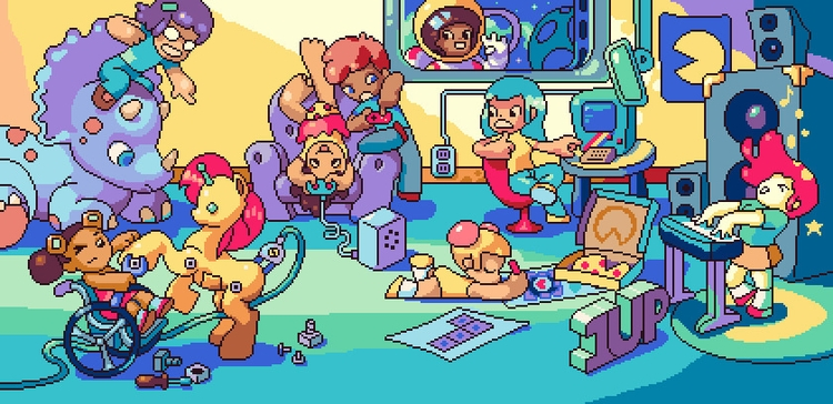 Girls play, compete games - feminism - castpixel | ello