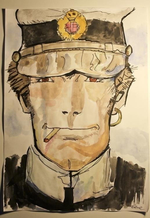 Corto Maltese - cortomaltese, comics - elenamantovan   ello