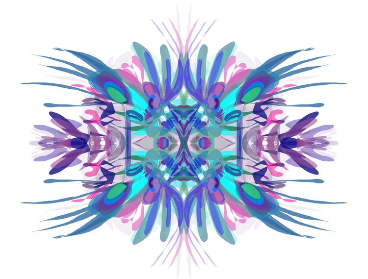 kaleidoscope, illustration, alchemy - snowny | ello