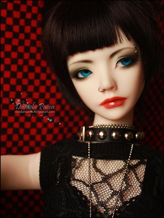 Doll: Sarah Head mold: Zaoll Lu - dandansama | ello