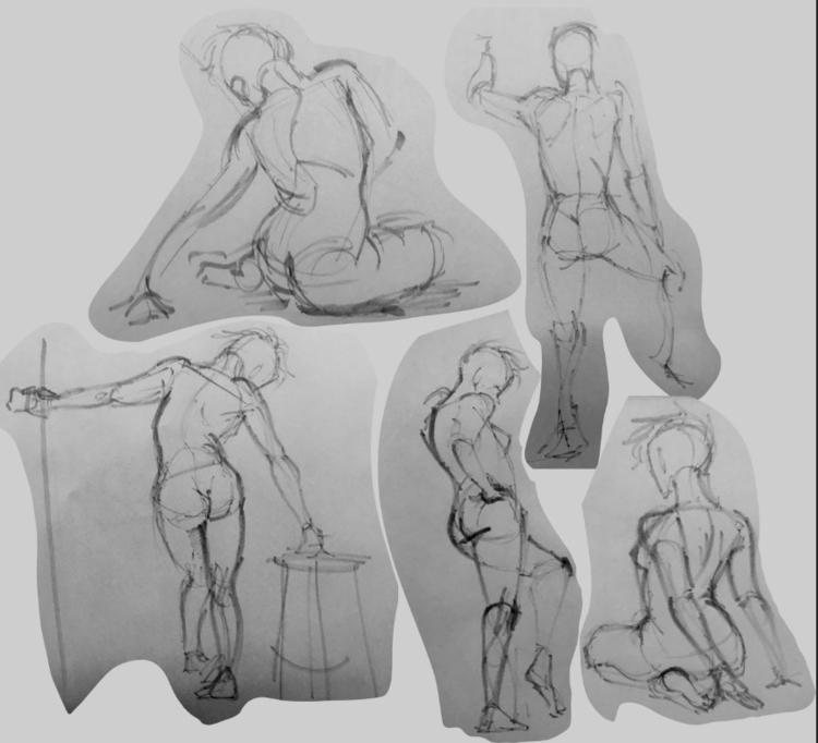 5 minute poses - madmeeper | ello