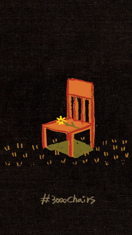 3000chairs, illustration, painting - soso-6104 | ello