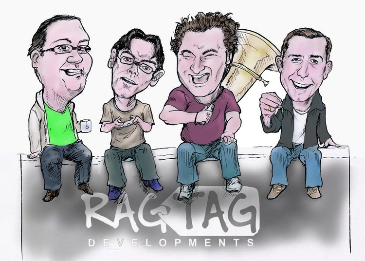 Ragtag Developments - gamesandmedia - waivisuals | ello
