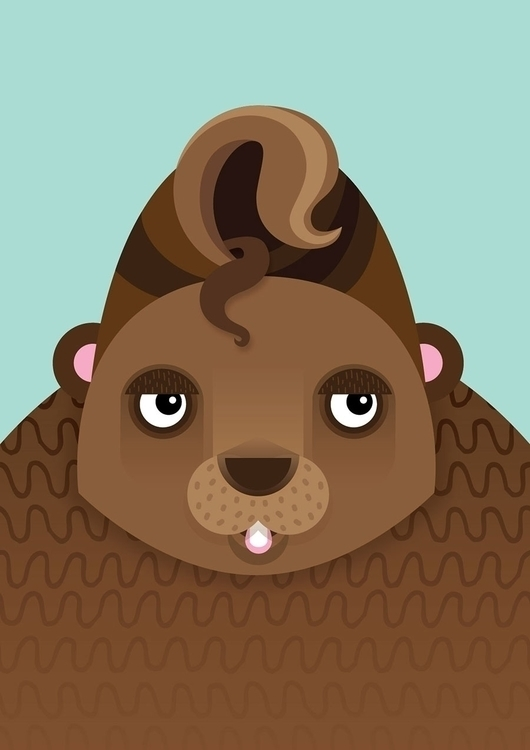#animals#bear#character#illustration - lily-8364 | ello