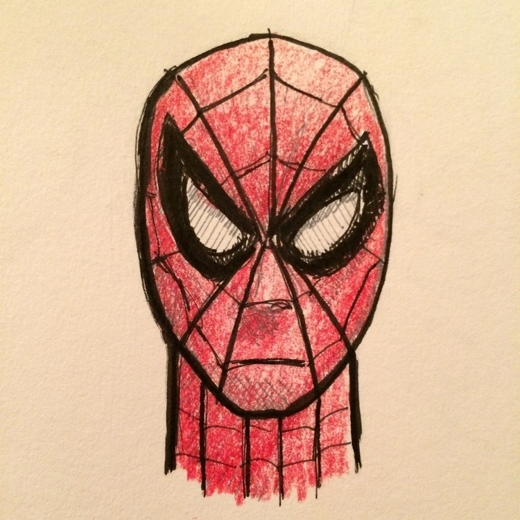 spiderman, sketchbook, marvel - marksolario | ello