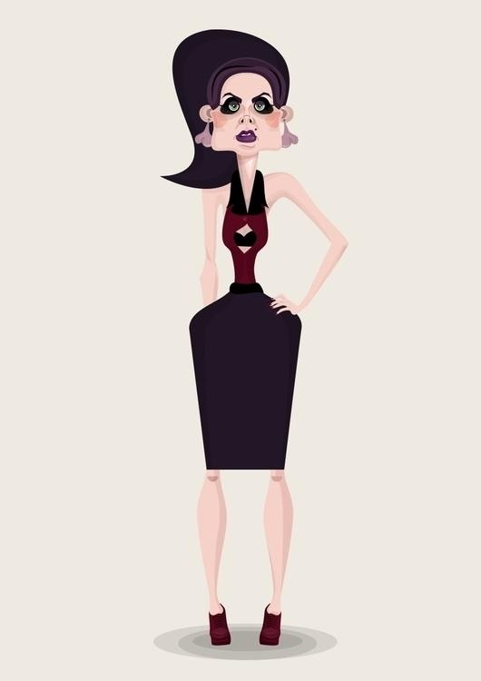 illustration, characterdesign - lily-8364 | ello