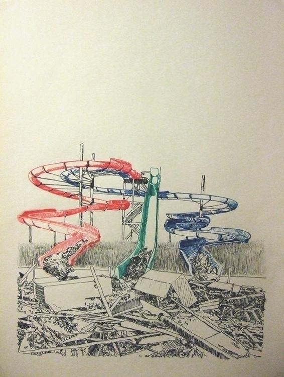 untitled 2014 Pen paper - fineliner - erik-1122 | ello