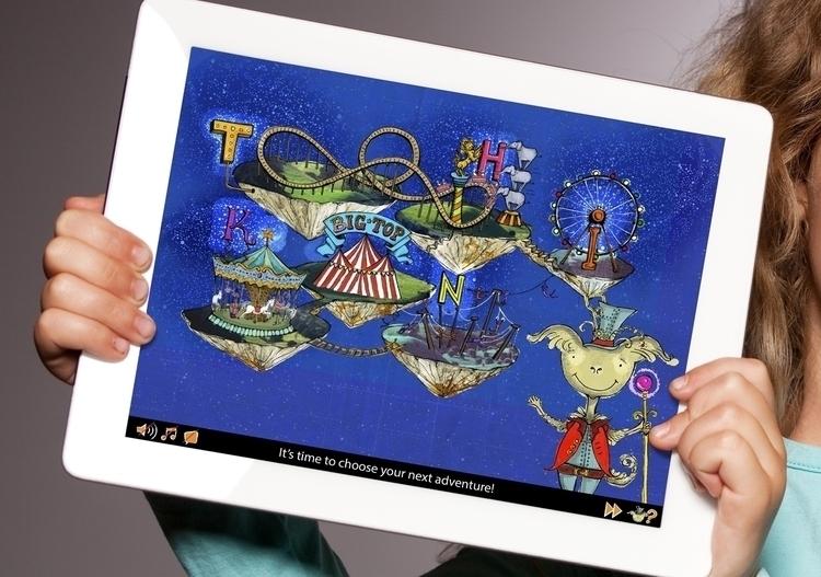tablet, mobile, interactive, gaming - juicelondon | ello