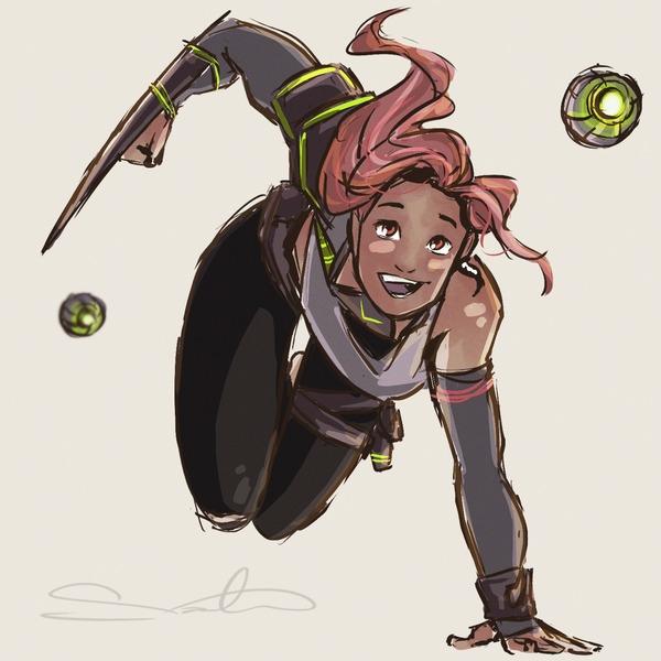 characterdesign, warriorgirls - samanthadoodles | ello