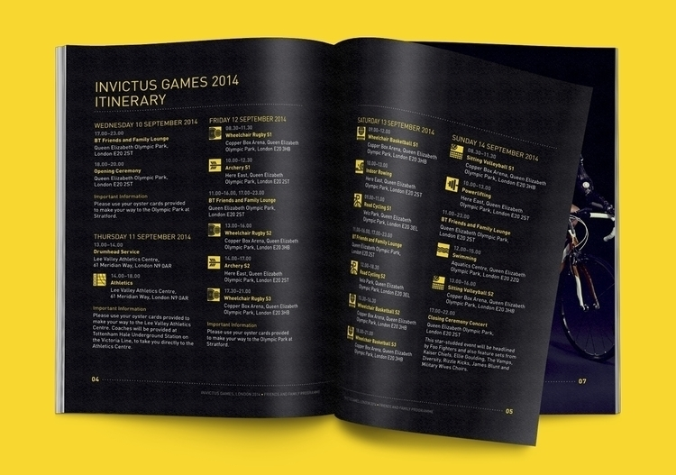 sports, event, booklet, layout - juicelondon | ello