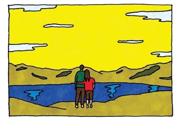family, sky, sun, lake, landscape - ajsazdrav | ello