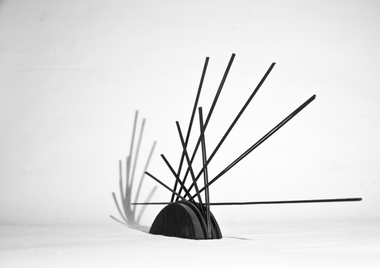 sculpture, object, wood, black - ondrejbelica | ello