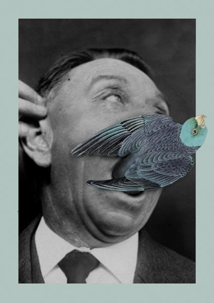 Parrot II 30×40 cm Giclée print - marcosmtez   ello
