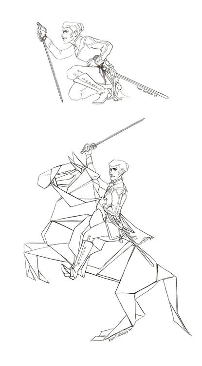 sketches webcomic, Cénit - cenit - anndorphin   ello