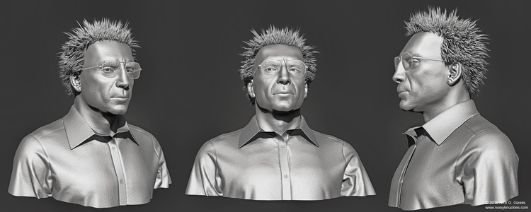 likeness sculpt photos actor Ja - aumakua | ello