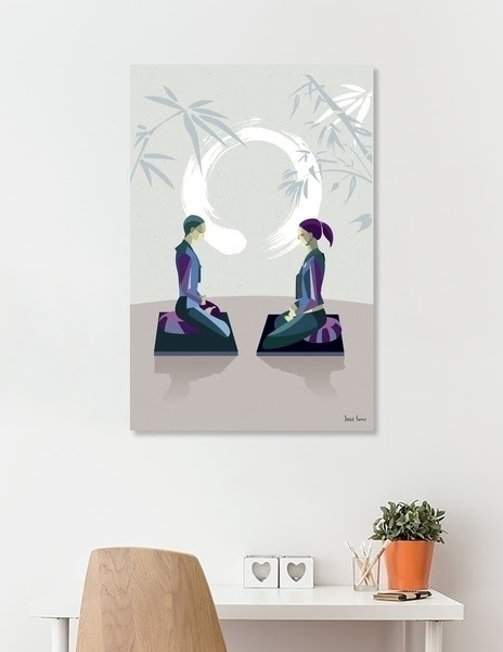 illustration, zen, curioos, illustrator - jesussanz | ello